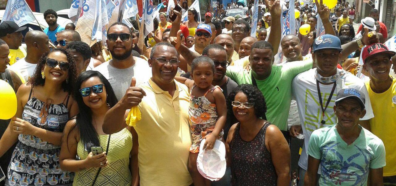PTN comemora votação em Salvador e no interior