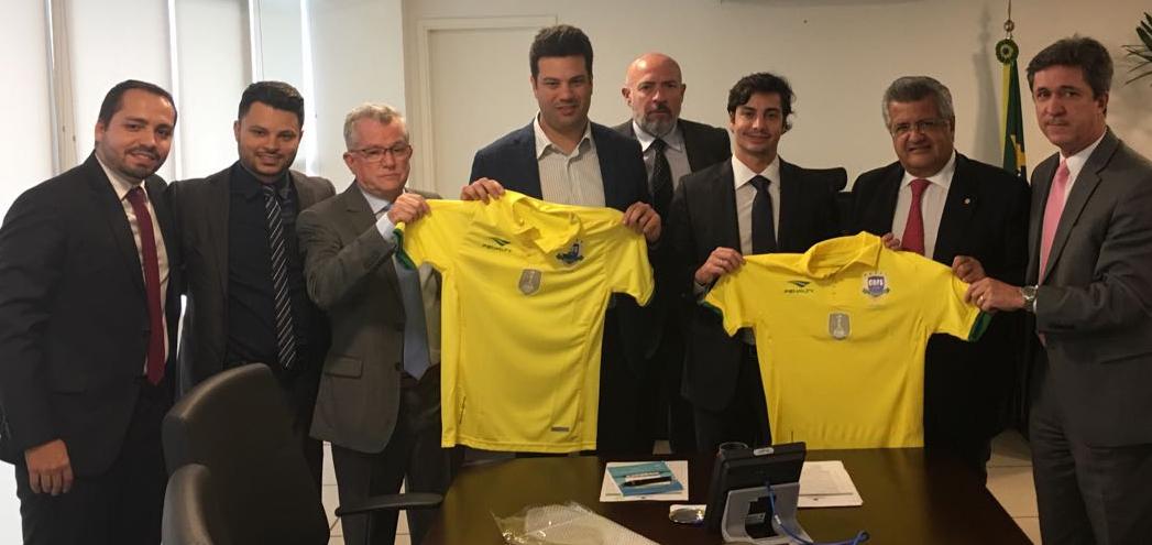 Fortalecimento do futsal é defendido por Bacelar no Ministério do Esporte