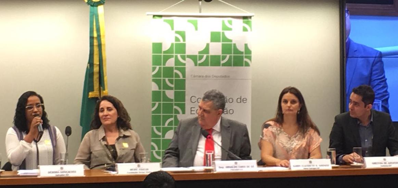 Bacelar exalta projeto baiano vencedor do Prêmio Educador Nota Dez