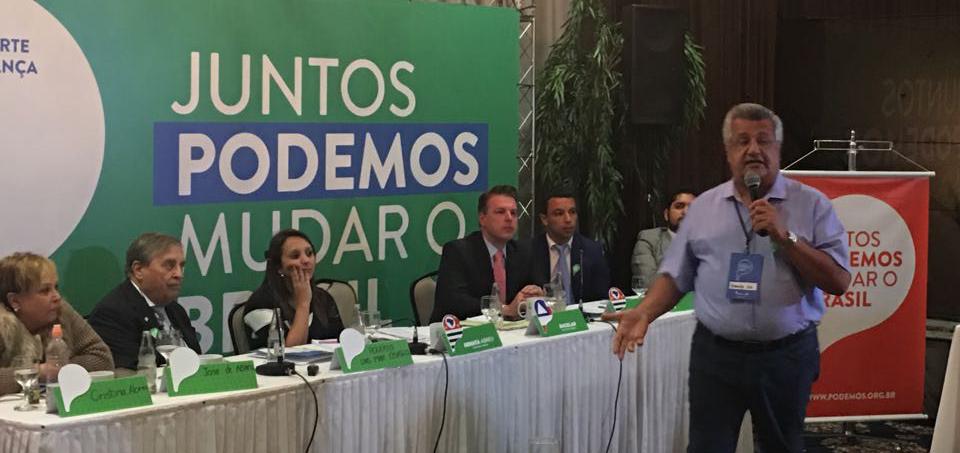 "Bacelar diz que ""Podemos"" representa novo modelo político"