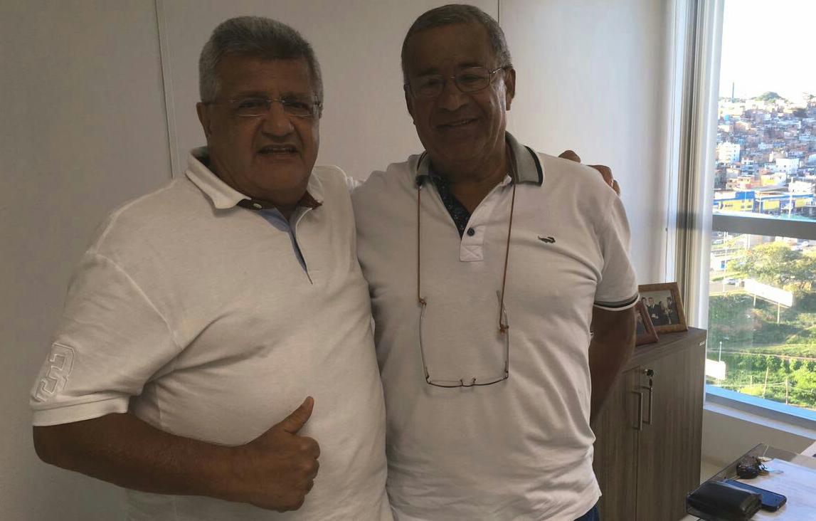 Visita do prefeito Milton Cerqueira, de Almadina