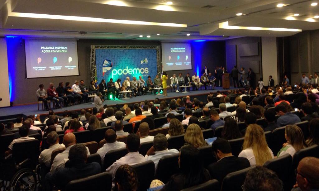 Podemos mostra força em primeiro evento na Bahia