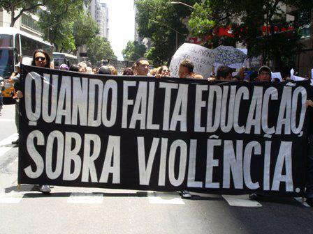 Educação, o caminho para o combate à violência