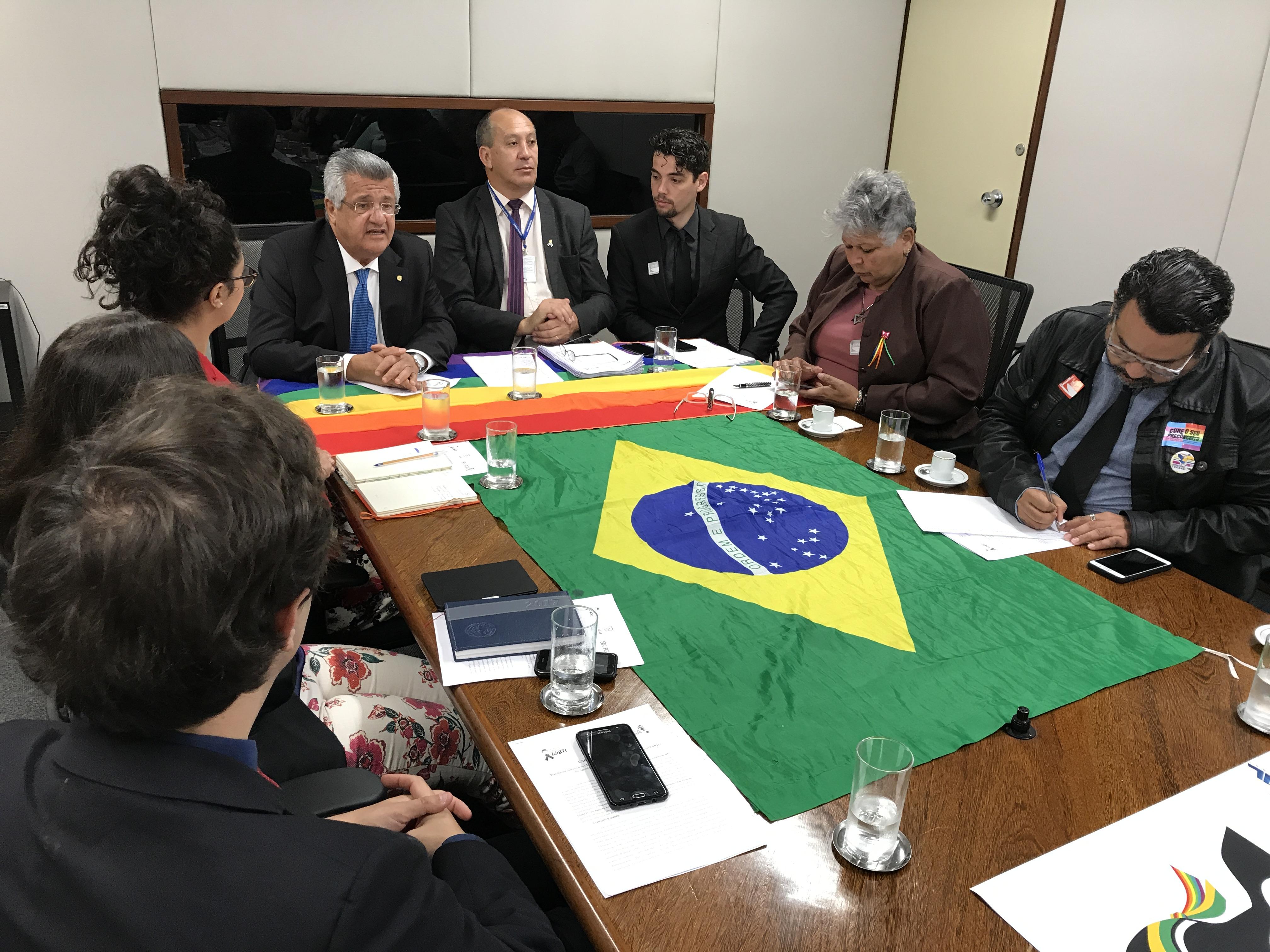 Bacelar defende celeridade na agenda legislativa LGBTI