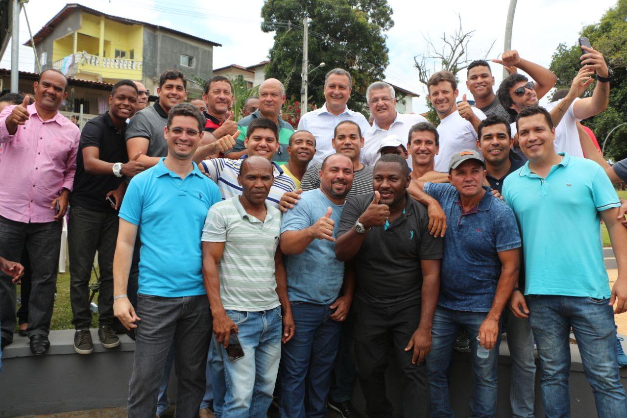 """""""Ninguém segura a correria de Rui"""", diz Bacelar em Pirajá"""