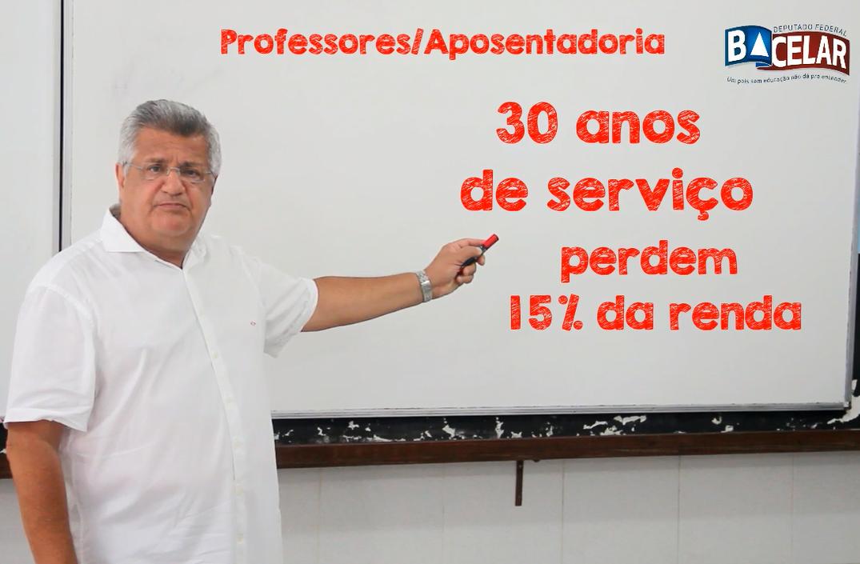 Bacelar explica prejuízos dos professores com Reforma da Previdência