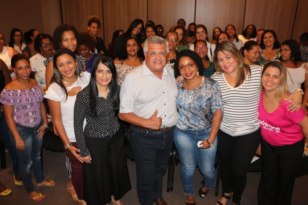 Bacelar participa de reunião do Podemos Mulher