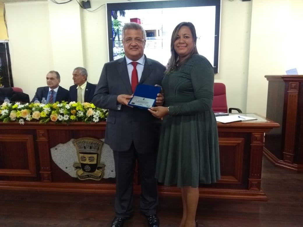 Bacelar recebe o título de cidadão catuense