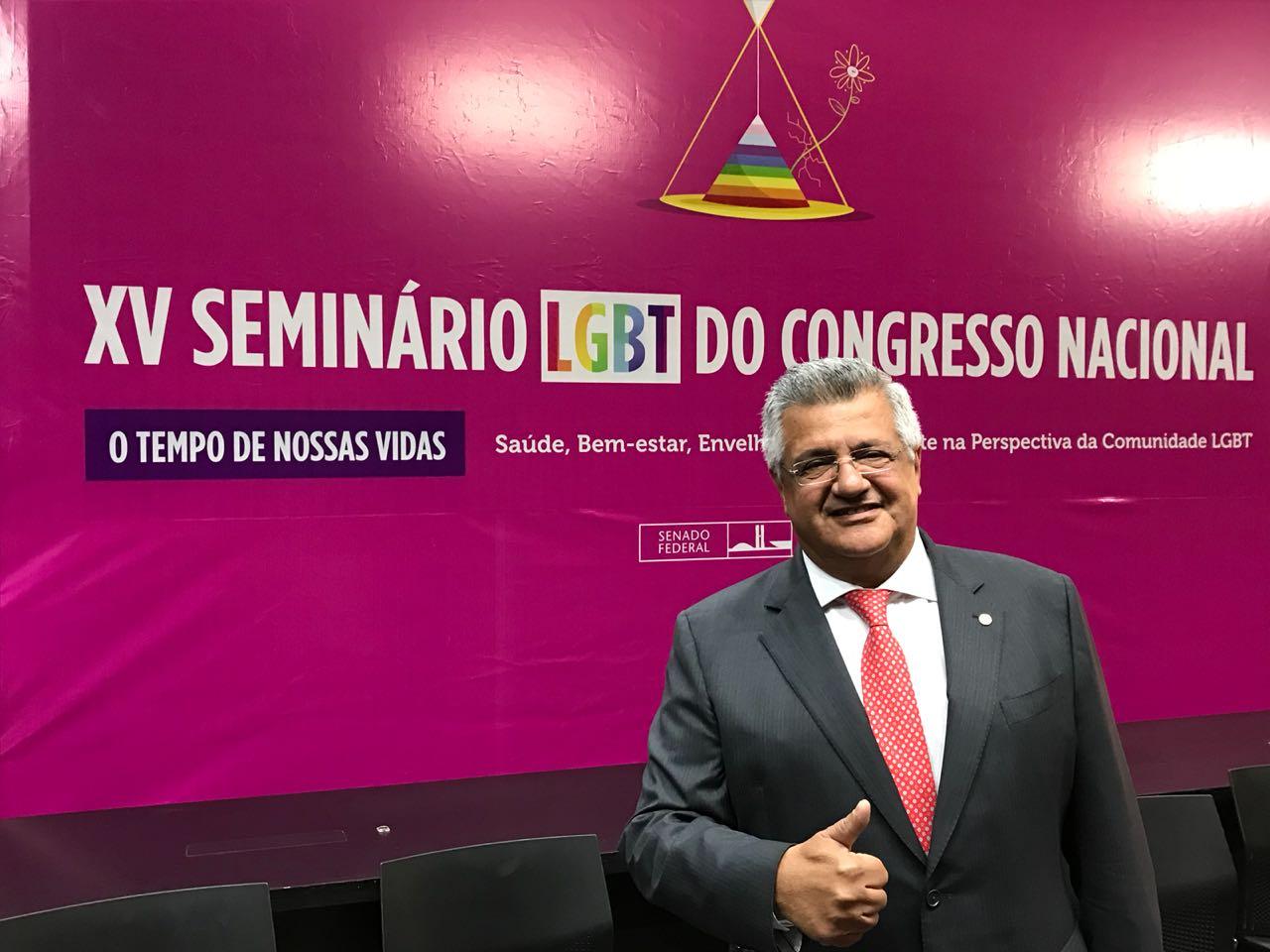 Bacelar cobra dados oficiais sobre idosos LGBTI