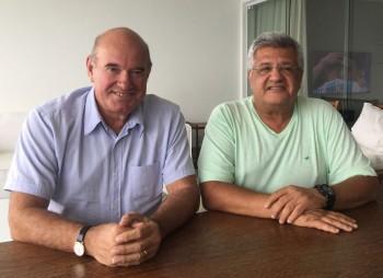 Bacelar sela parceria com ex-prefeito de Paulo Afonso Anilton Bastos