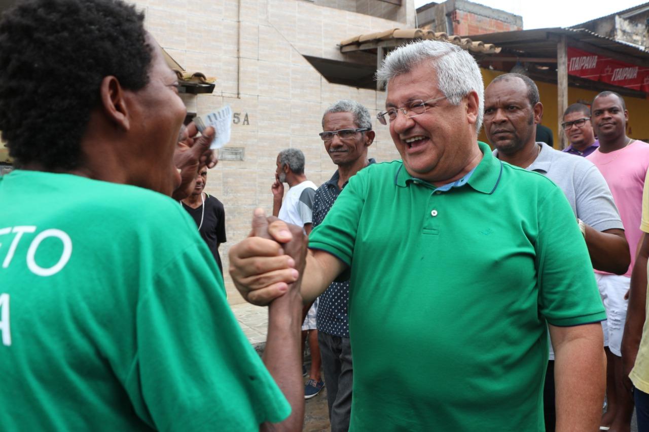 Bacelar ouve eleitores da capital e do interior na largada da campanha