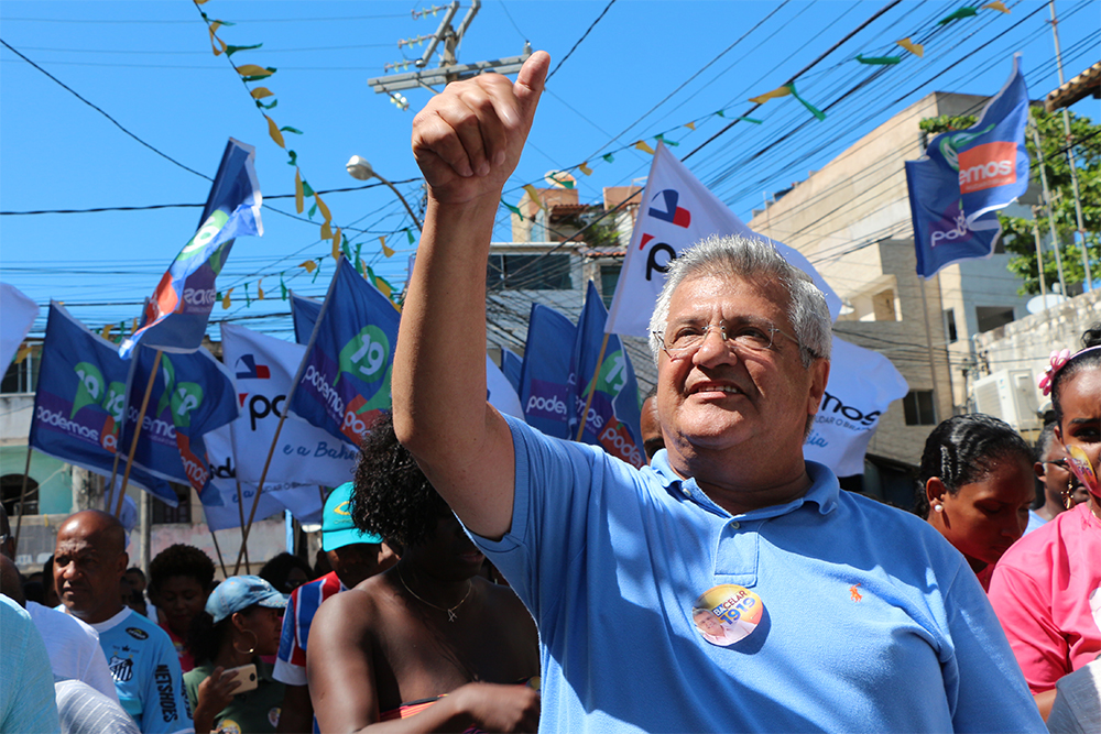 Trabalho pelo Nordeste de Amaralina marca trajetória política de Bacelar