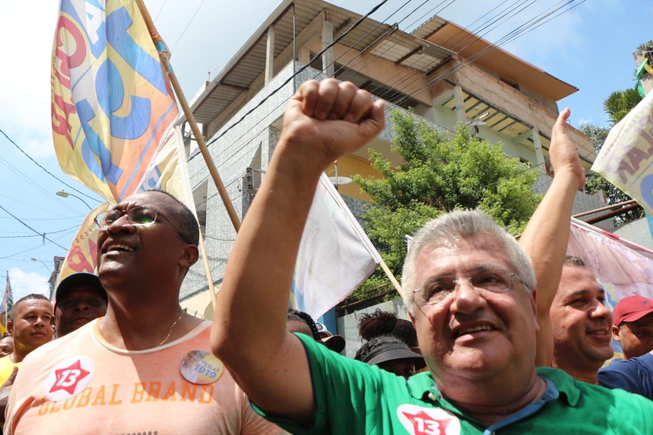 Saúde, esporte e diversidade são destaque na campanha de Bacelar em Salvador