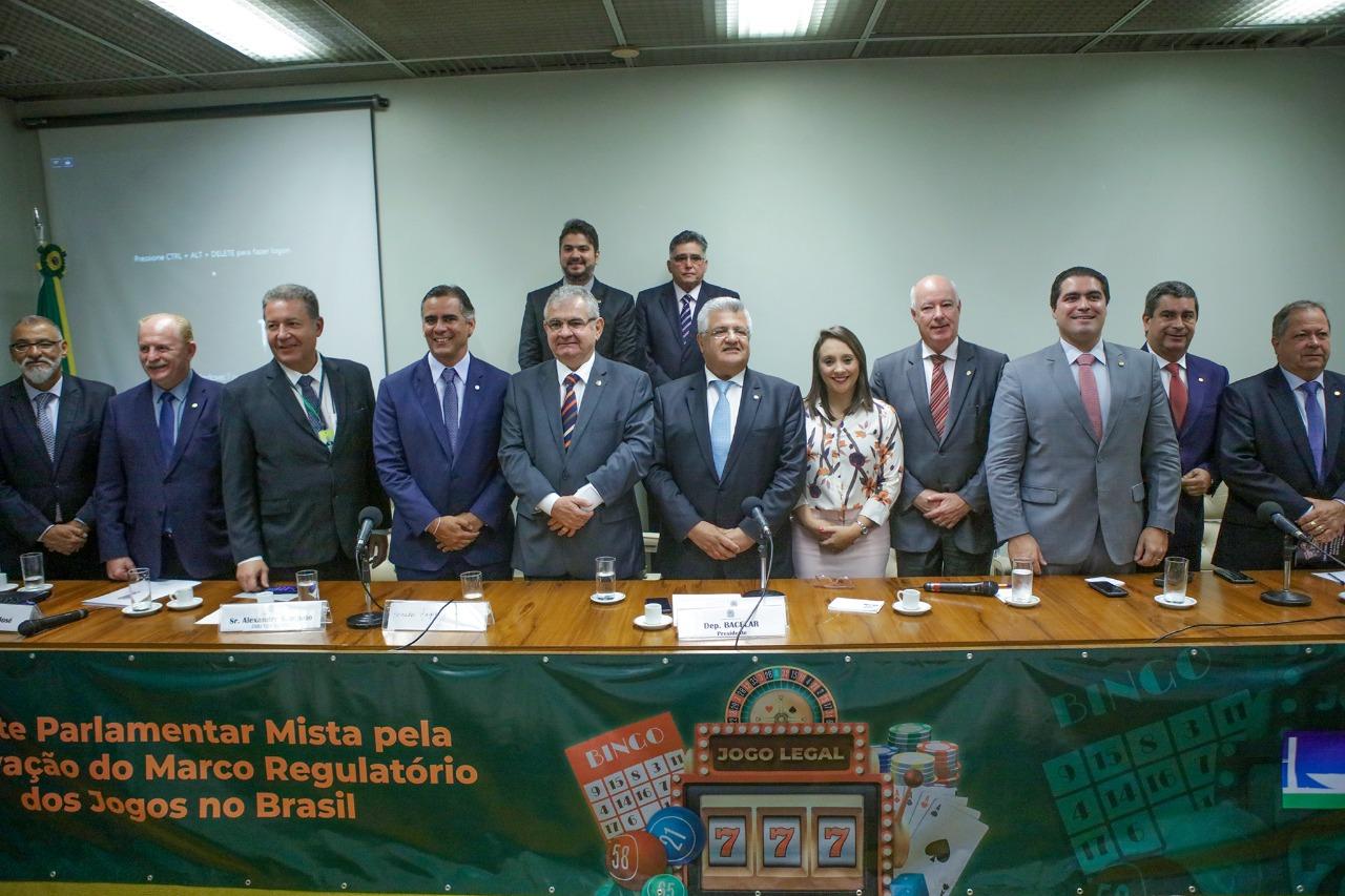 Lançada Frente Parlamentar Mista pela aprovação do Marco Regulatório dos Jogos