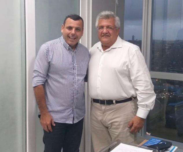 Bacelar e Mestre Átila Torres juntos em defesa do esporte