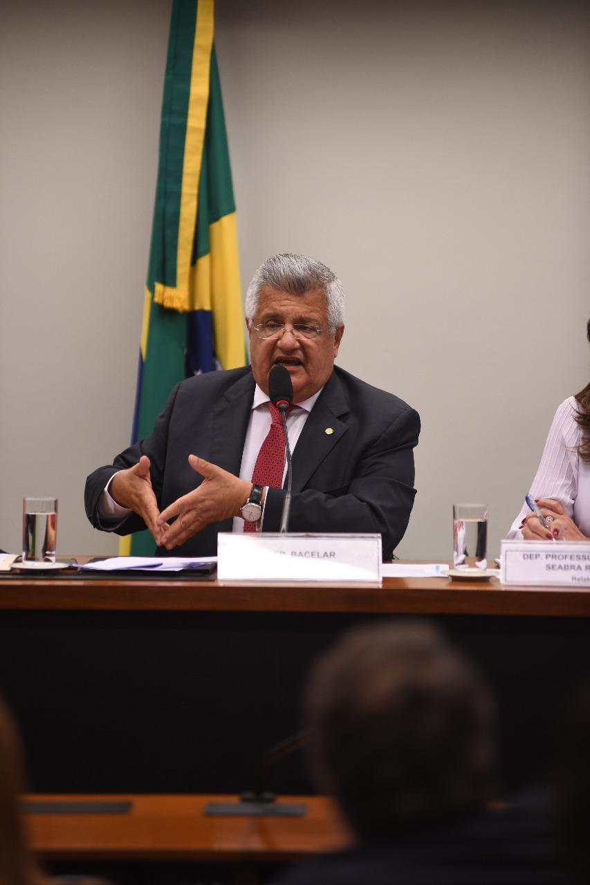 Deputado Bacelar defende legalização dos jogos de azar