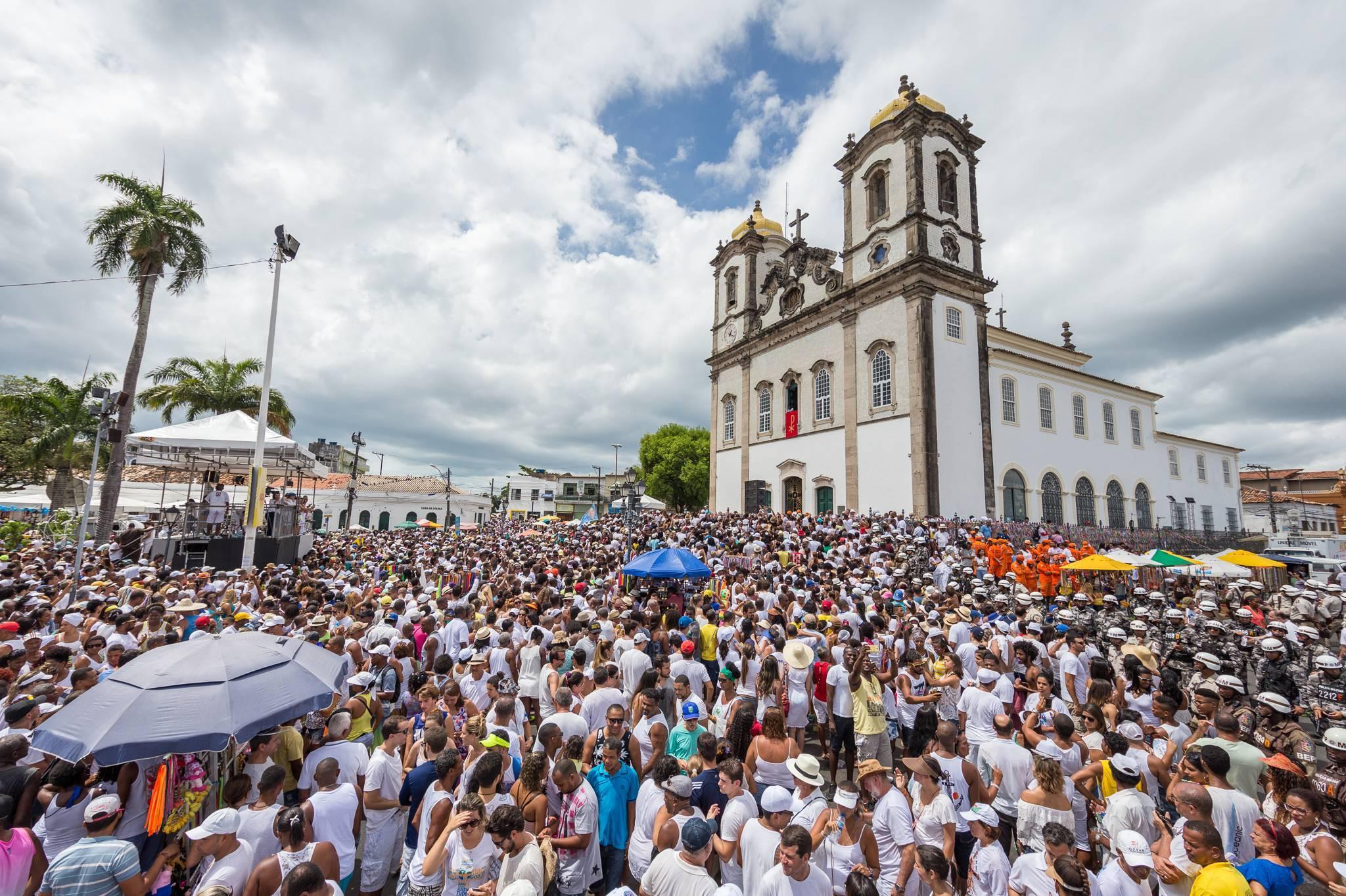 Bacelar enaltece a Festa do Senhor do Bonfim, em Salvador