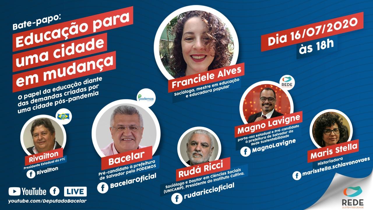 Pré-candidatos à prefeitura falam do cenário educacional de Salvador
