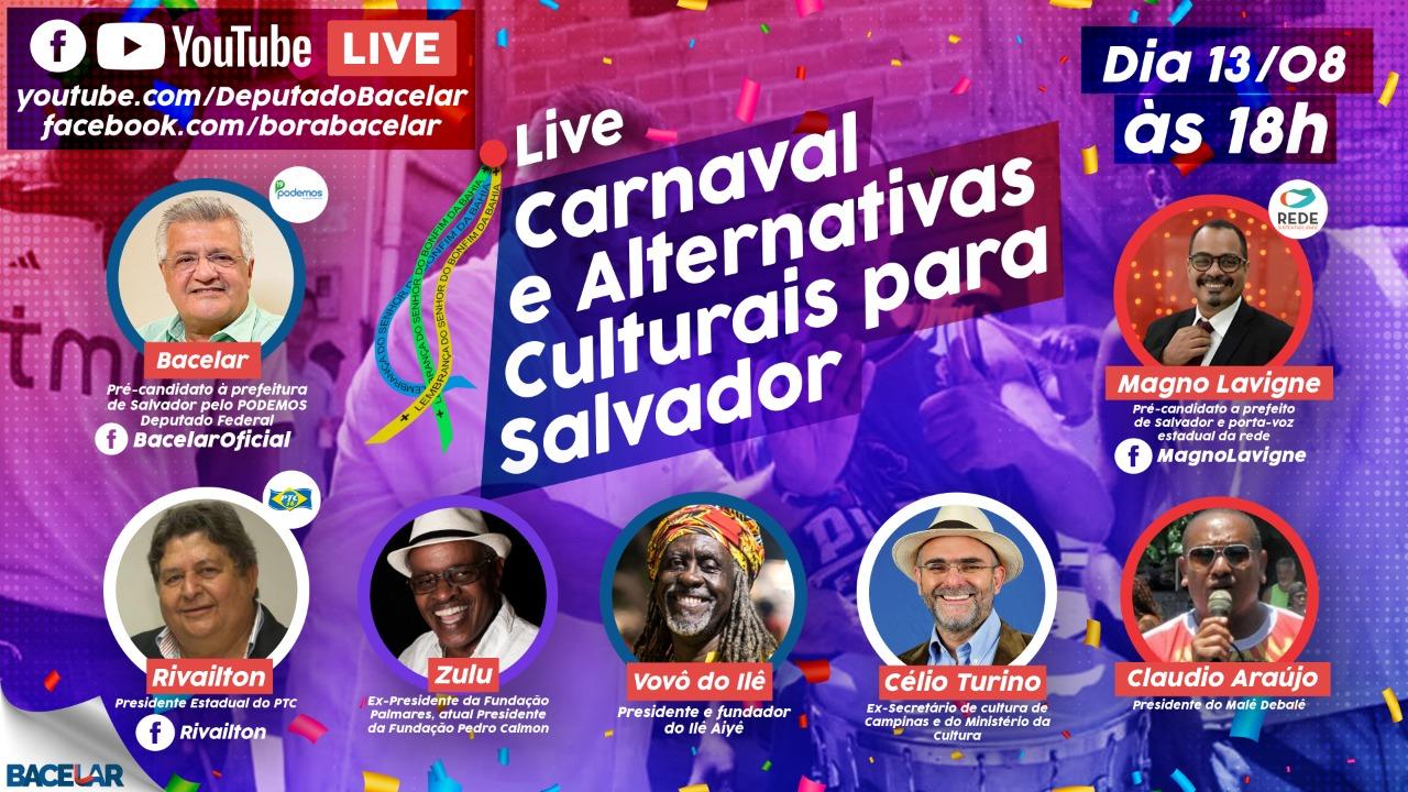 Partidos pensam em Salvador como a maior potência cultural do hemisfério Sul