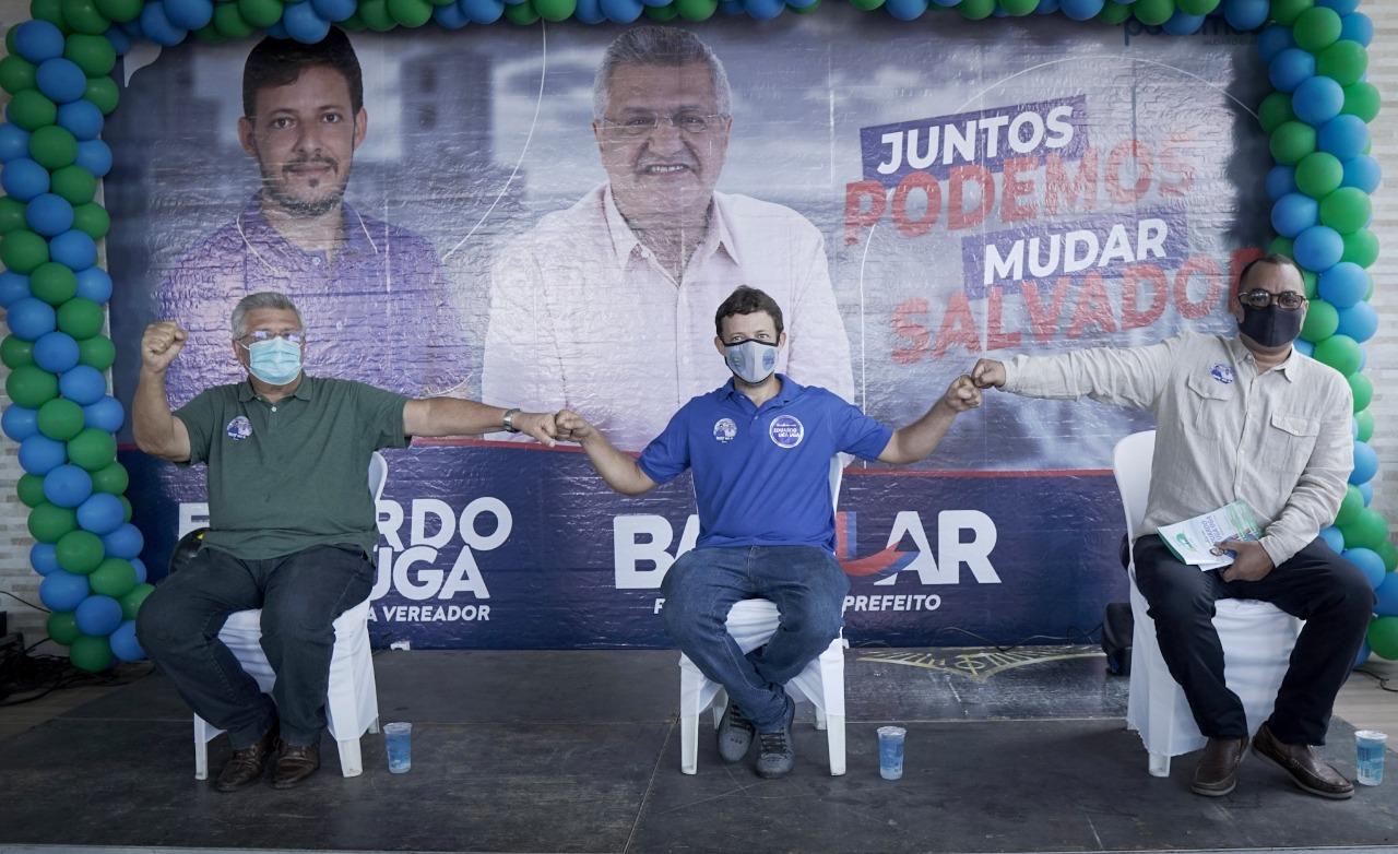 Eduardo Uga Uga lança pré-candidatura a vereador com presença de Bacelar