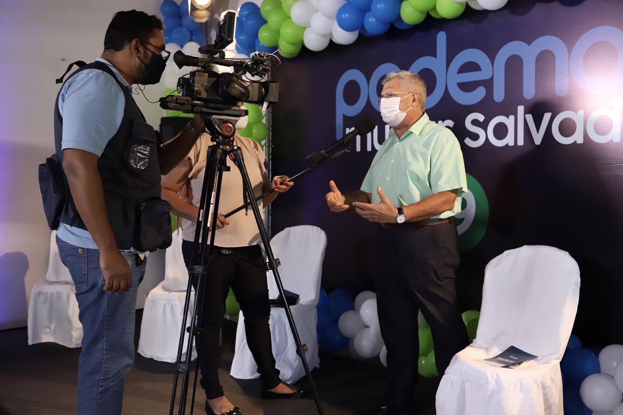 Deu na mídia: oficialização da candidatura de Bacelar à prefeitura de Salvador