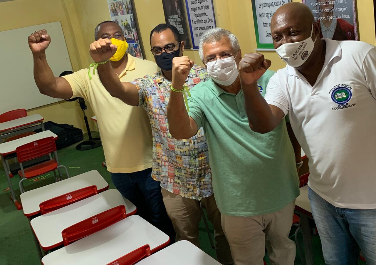 Bacelar participa de inauguração de Instituto Cidadania, Educação e Cultura do Brasil na Fazenda Grande do Retiro