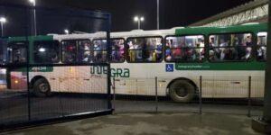 ônibus lotado em Salvador na Pandemia