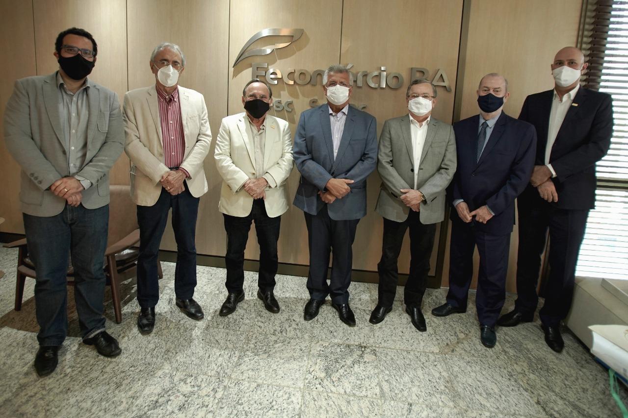 Bacelar e Fecomércio pensam em economia de Salvador para pós-pandemia