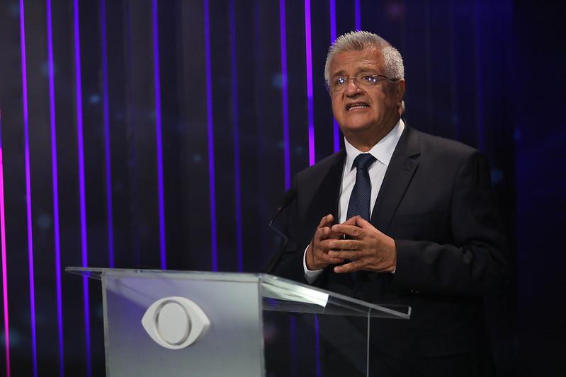 """Me preparei a vida toda para governar Salvador"", afirmou Bacelar durante debate na Band Bahia na noite desta quinta-feira (01)"