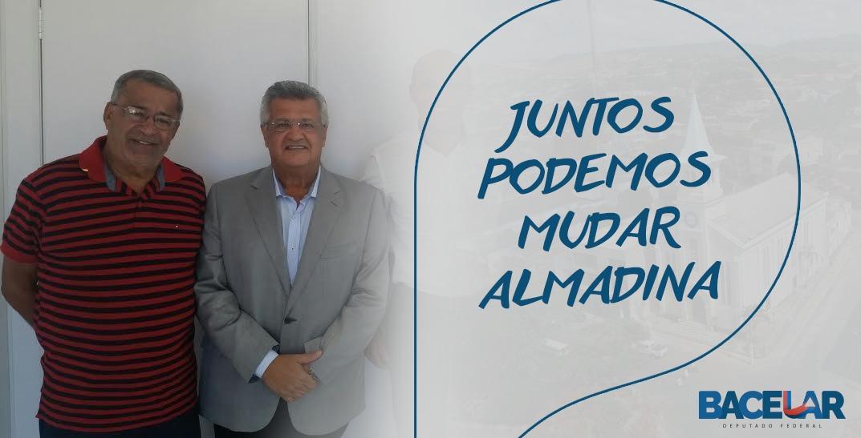Bacelar diz que vai lutar pela pavimentação da estrada que liga Almadina à Floresta Azul