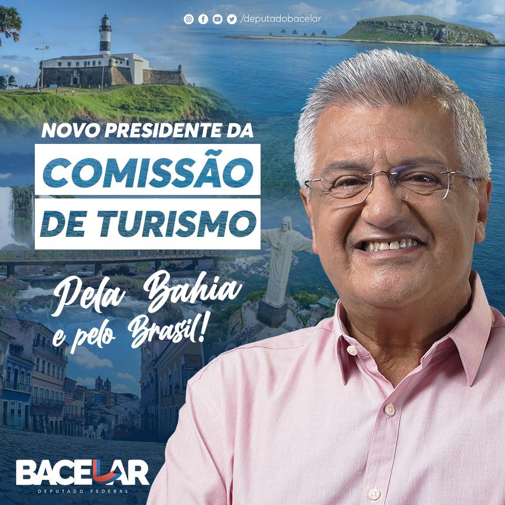 Novo presidente da Comissão de Turismo, Bacelar, diz que vai preparar o setor para pós-pandemia